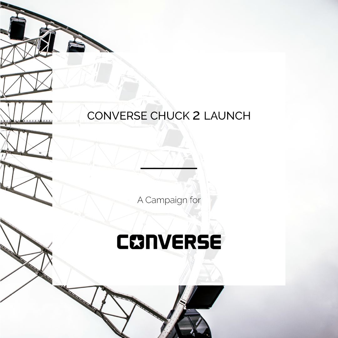 CONVERSE CHUCK 2 LAUNCH