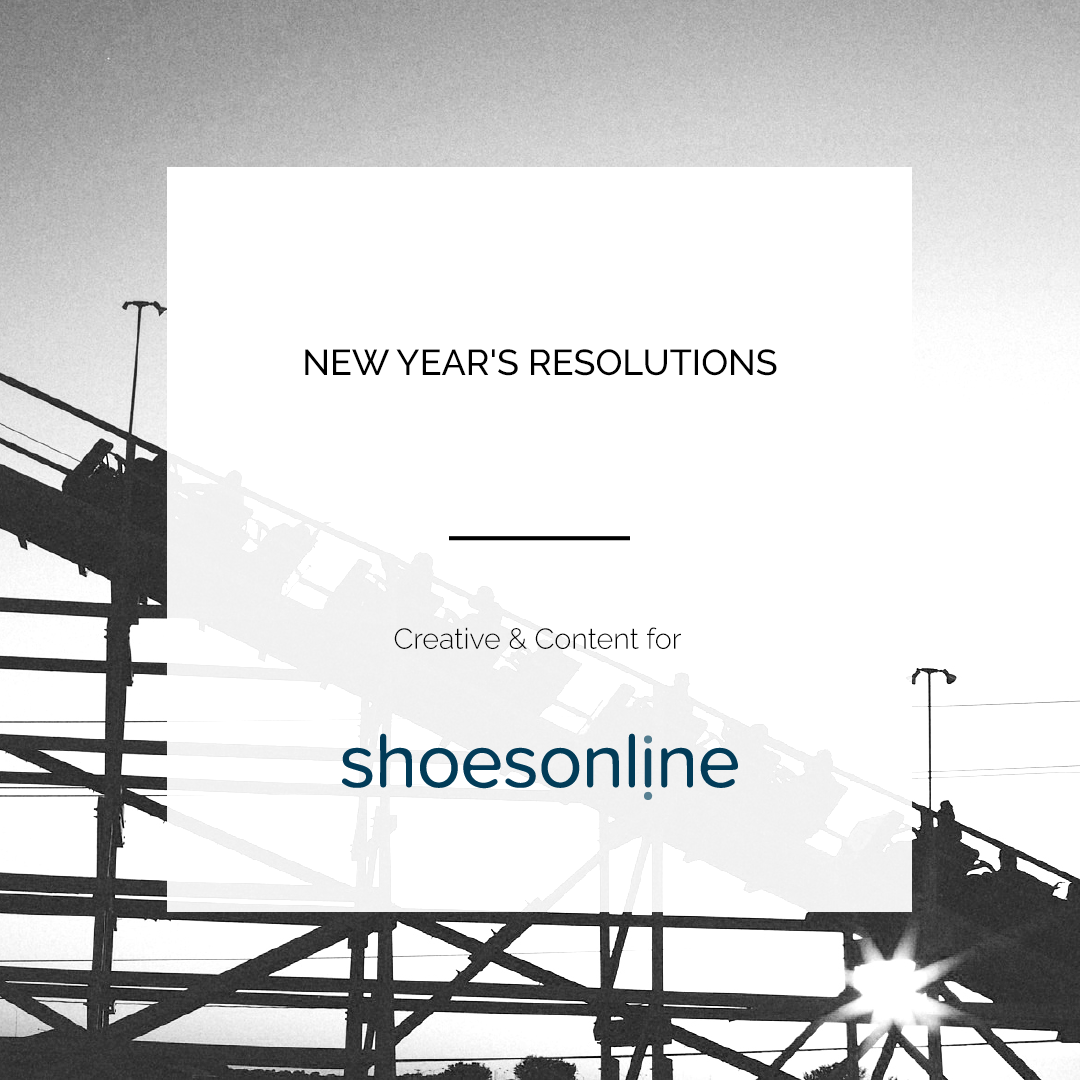 SHOES ONLINE | NEW YEAR'S RESOLUTION