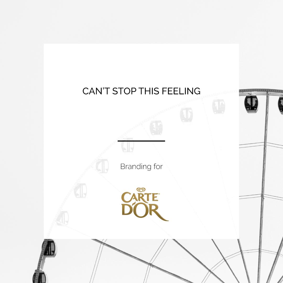 CARTE D'OR | BRANDING