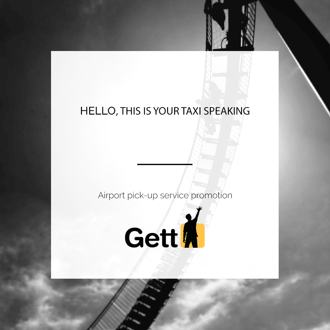 GETT | AIRPORT PICK-UP SERVICE PROMOTION