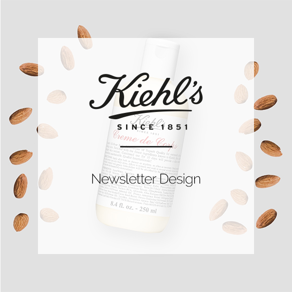 KIEHLS | NEWSLETTER DESIGN