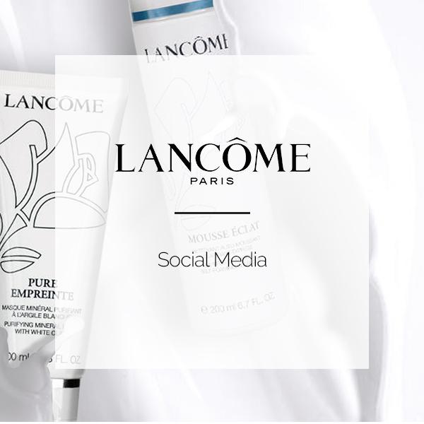 LANCOME-SOCIAL MEDIA