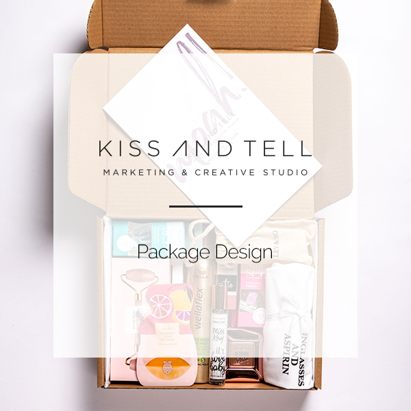 KISS AND TELL | PACKAGE DESIGN